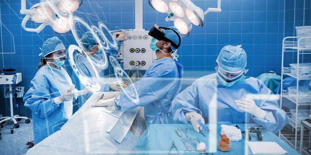 Augmented reality in healthcare sector