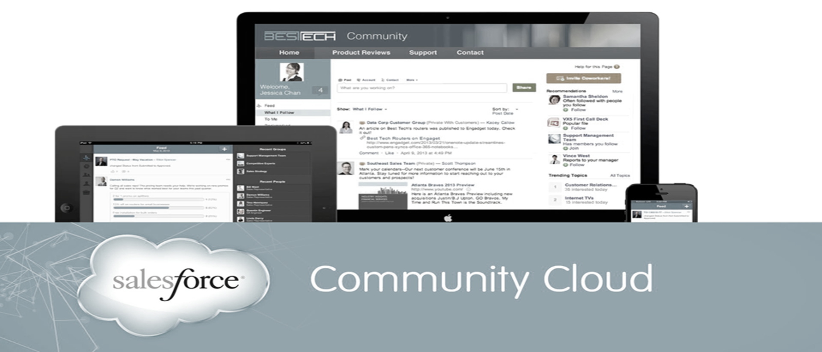 Empower Business with Salesforce Community Cloud